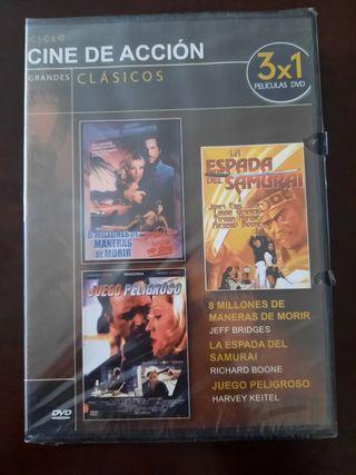 DVD - CINE DE ACCIÓN (PRECINTADA)