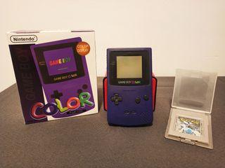 GameBoy Color + Pokemon Plata