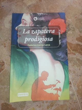 LIBRO DE TEATRO, LA ZAPATERA PRODIGIOSA