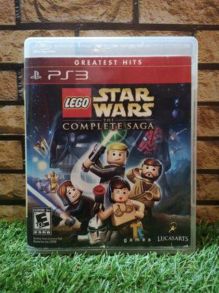 Lego Star Wars Saga Completa Ps3