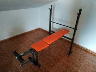 Banco de pesas y abdominales Sport Life