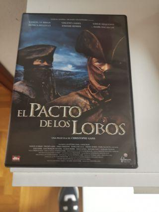 El pacto de los lobos dvd