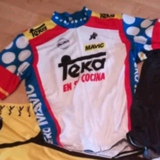 maillot ciclismo vintage clásicos teka
