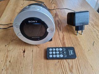 Sony ICF-C7IPS - Radio Despertador, Base Para IPod