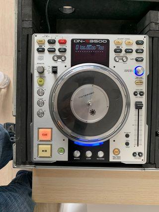 Pareja Denon DN S3500 reproductor CDs, MP3 para Dj