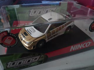 Subaru Impreza Ninco slot Scalextric