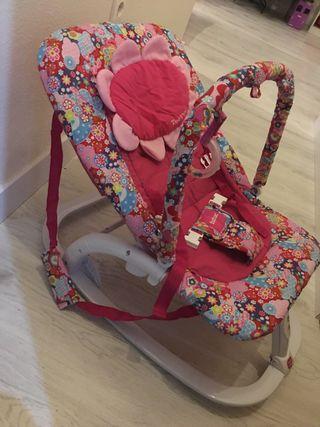 Hamaca bebé niña tuc tuc