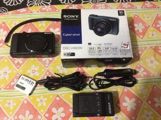 Cámara compacta Sony DSC-HX20V