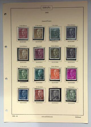 Colección sellos General Franco