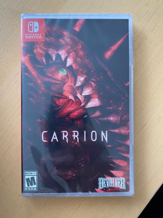 CARRION precintado Nintendo Switch