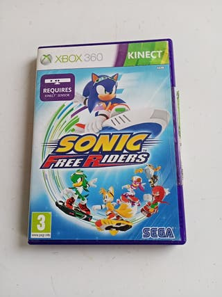 Juego de la Xbox Sonic free Riders