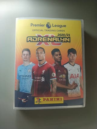Panini Adrenalyn Premier League 2020 2021 Completa