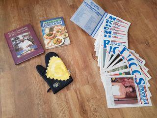 Libros de cocina y Recetas.