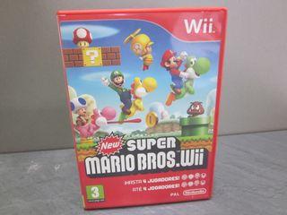 Juego nintendo Wii new Super Mario bros