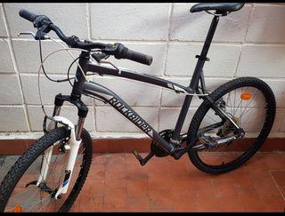 bicicleta rockrider de montaña