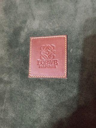 Porta agenda Loewe de piel