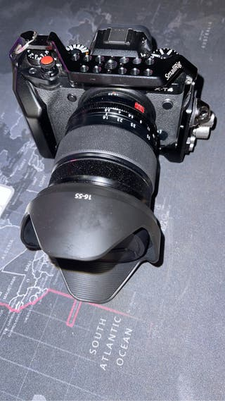 Fujifilm x-t4 + 16-55 f2.8 smallrig