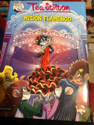Misión Flanenco . Literatura infantil