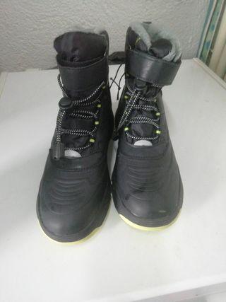 botas de nieve para niño