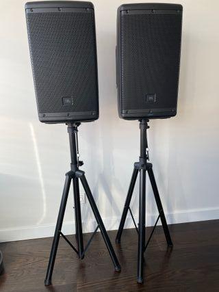 Juego de 2 Altavoces Auto-amplificados JBL EON610