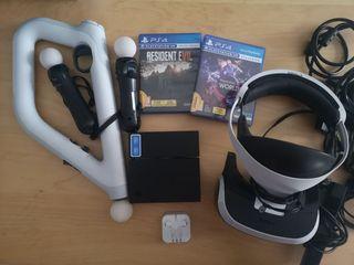 PlayStation VR + Juegos