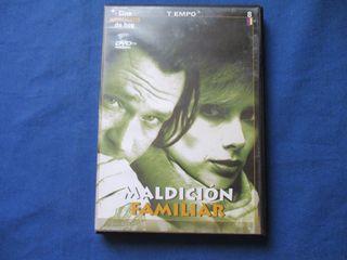 DVD - CINE AMERICANO DE HOY 8 / MALDICIÓN FAMILIAR