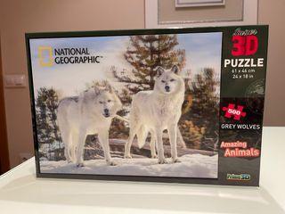 Puzzle 3D 500 piezas nuevo