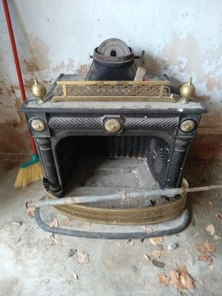 chimenea de fundicion antigua