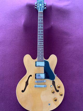 Guitarra Gibson ES-335 DOT Natural (año 1982)