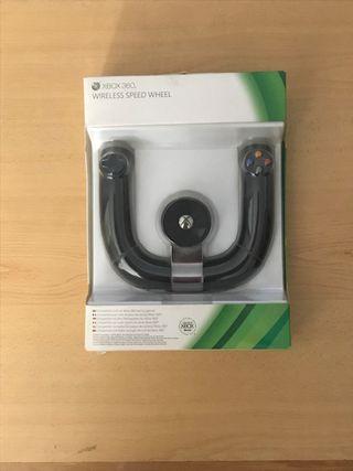Oficial Xbox 360 Volante inalámbrico