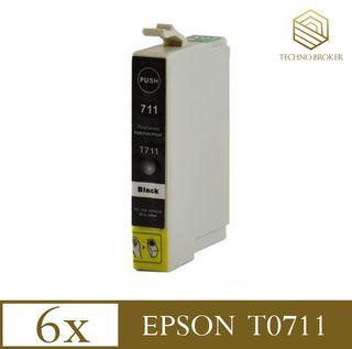 EPSON T0711 PACK 6 CARTUCHOS