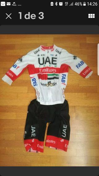 UAE TEAM EMIRATES .mono.body.platanito.1 pieza