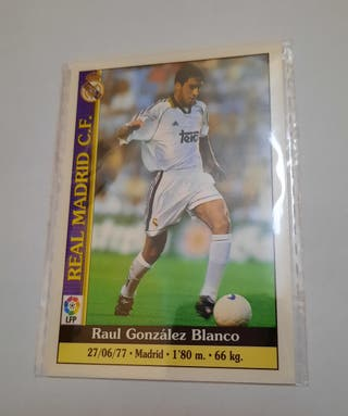 Cromo Raúl Real Madrid