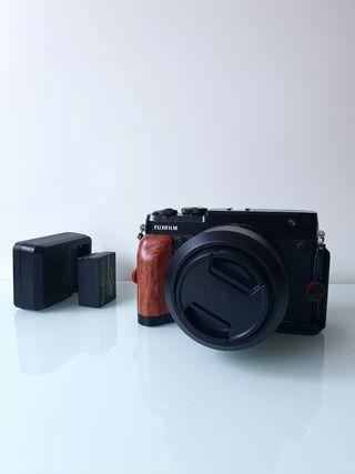 Fujifilm GFX 50R más 63mm f2.8