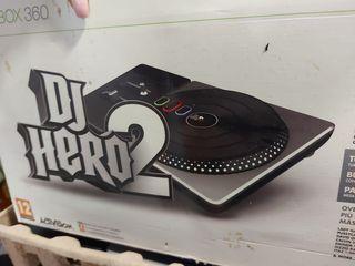 juego Xbox 360 dj Hero 2