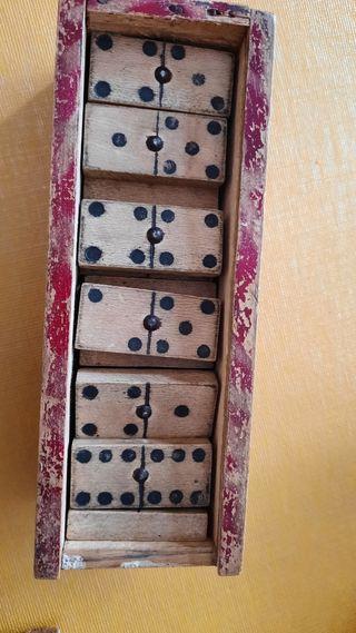 domino de madera