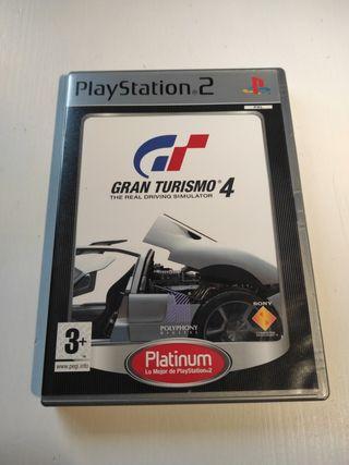 Gran turismo 4 PlayStation 2.