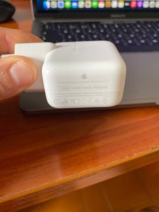 Adaptador de corriente Apple