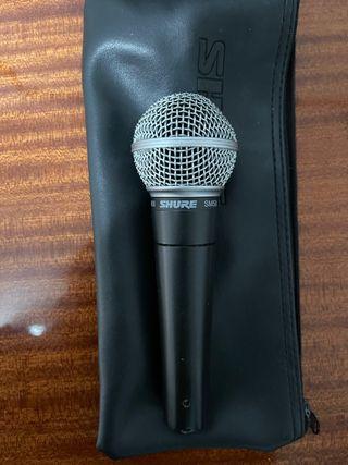 Micrófono Shure SM58 LC