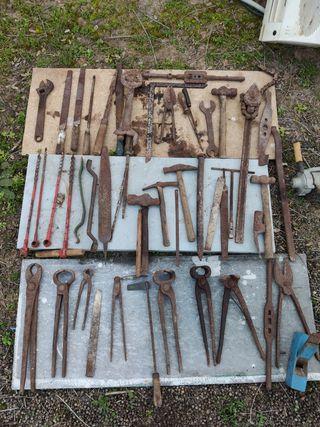 herramientas antiguas vintage