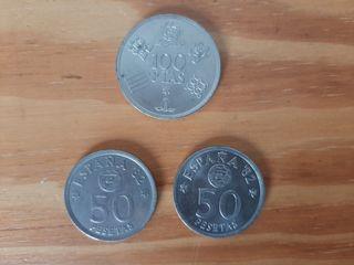 Monedas mundial 82 de 1980