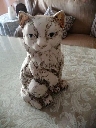 Figura gato decorativo