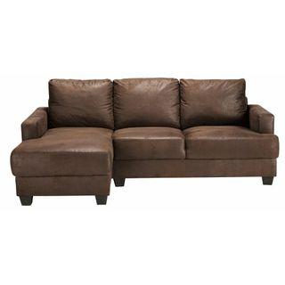 sofá esquinero terciopelo