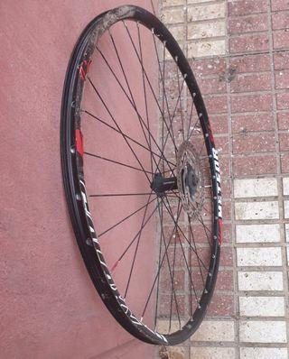 rueda de bici de diso