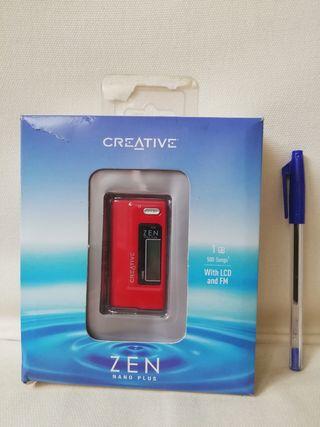Reproductor mp3 1Gb nuevo marca creative con radio