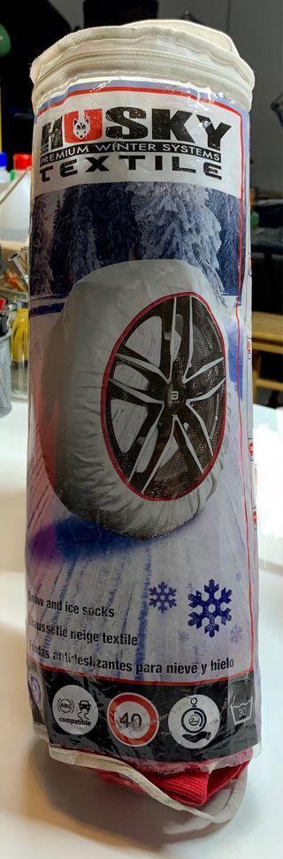 Cadenas de tela para nieve y hielo