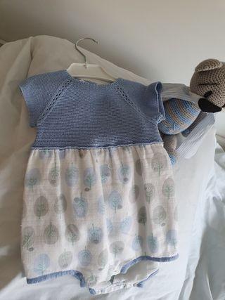 Pelele niño algodon