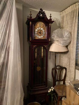 Reloj de pie años 70 TEMPUS FUGIT