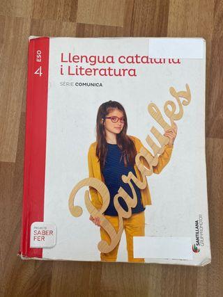 Libro de Catalán 4 ESO