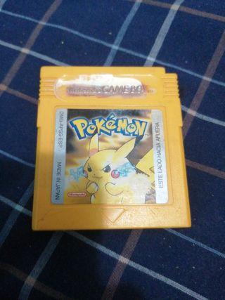 Juego Pokémon Gameboy